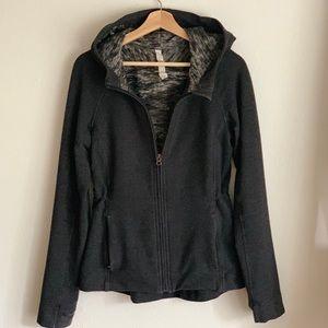 lululemon zip hooded jacket